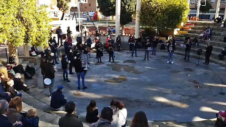Canciones navideñas con 'tabal i dolçaina' en Foios