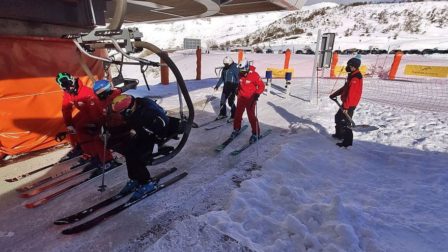 La campaña de esquí del covid deja unas pérdidas del 90% respecto a otros años