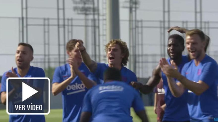 La alimentación y preparación del Barça, en una miniserie