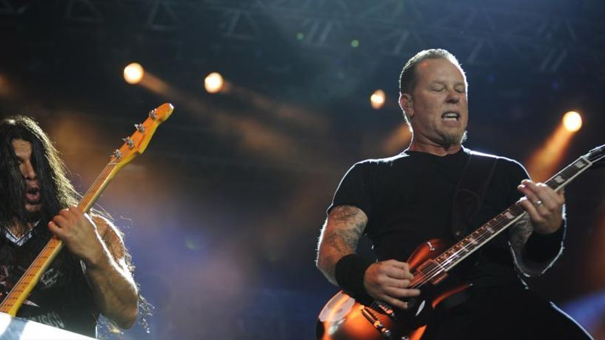 Metallica anuncia conciertos en Madrid y Barcelona