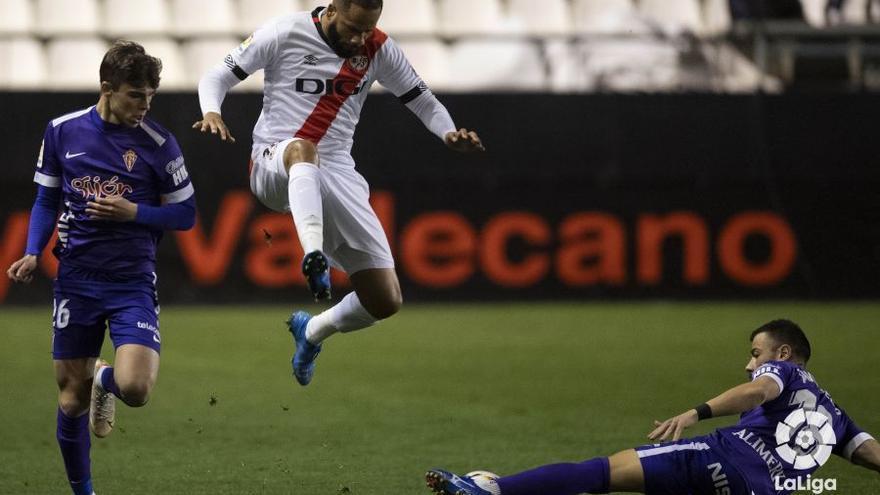 Rayo Vallecano - Sporting, en imágenes