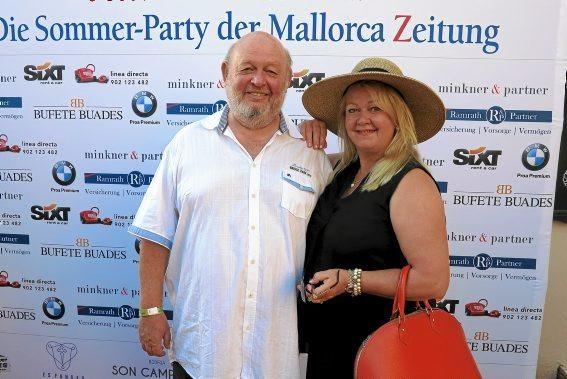 Gerhard Mayer und Anette Bahr