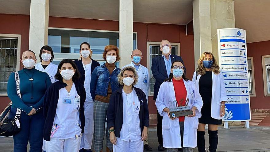 El Colegio de Enfermería reconoce la labor del Hospital San Juan de Dios
