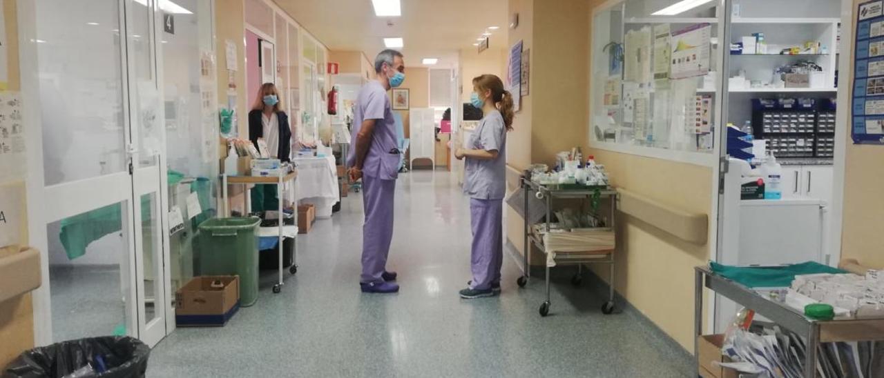 Unidad de Cuidados Intensivos del Hospital General de Alicante, en imagen de archivo