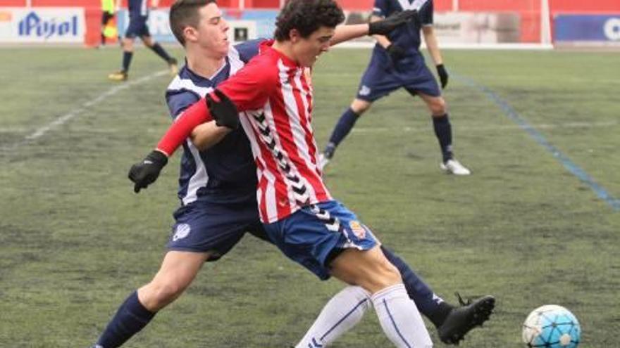 El Manresa juvenil s'ensorra  a la represa contra l'Espanyol