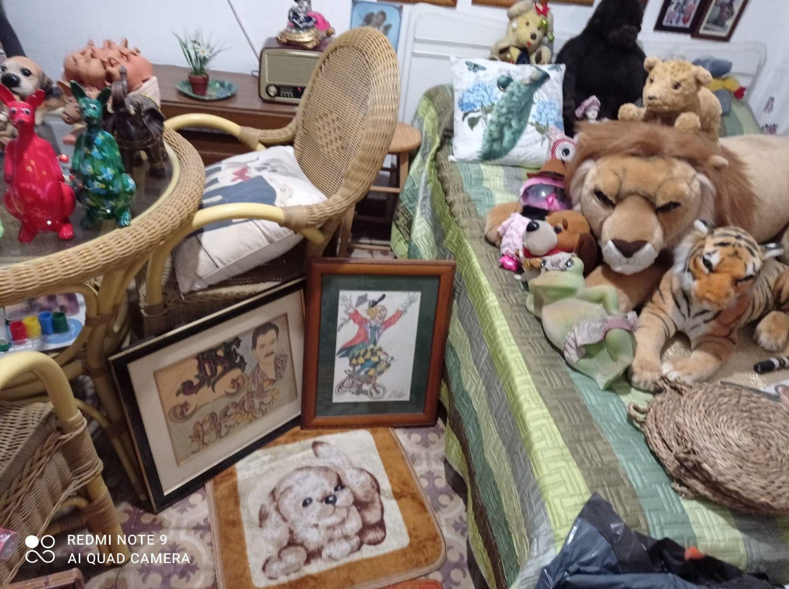 """""""Bambi"""", el creador de hojalata que quiere exponer en Lugones"""