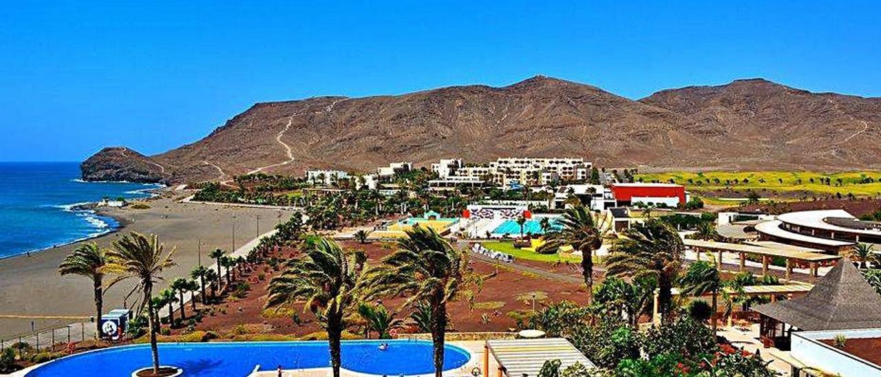Imagen del complejo hotelero Playitas Resort, en el municipio de Tuineje