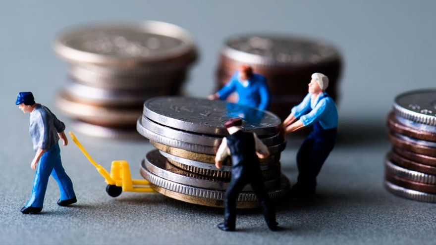 El salario bruto medio alcanza los 1.944 euros