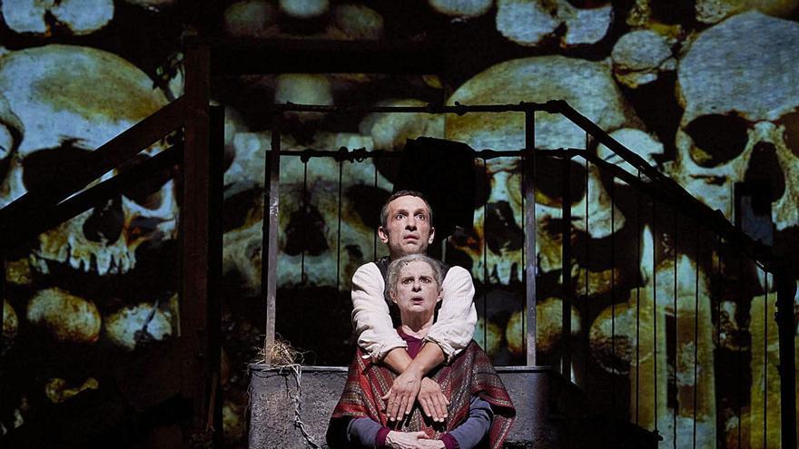 La versión teatral de 'Pedro Páramo' llega al Cuyás con el sello de Mario Gas
