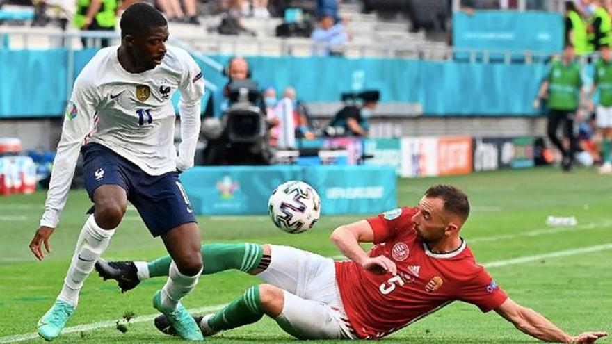 Dembélé es perd el que queda d'Eurocopa