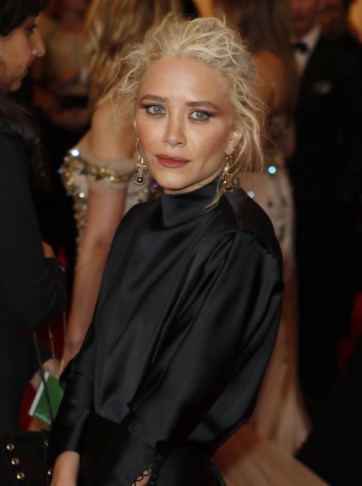 Mary-Kate Olsen durante un evento en 2012. REUTERS