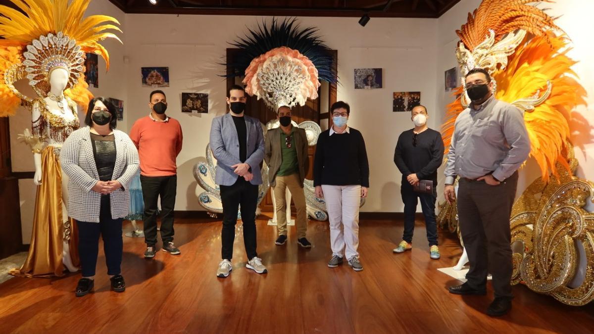 Inauguración de la muestra de trajes del Carnaval en Tegueste