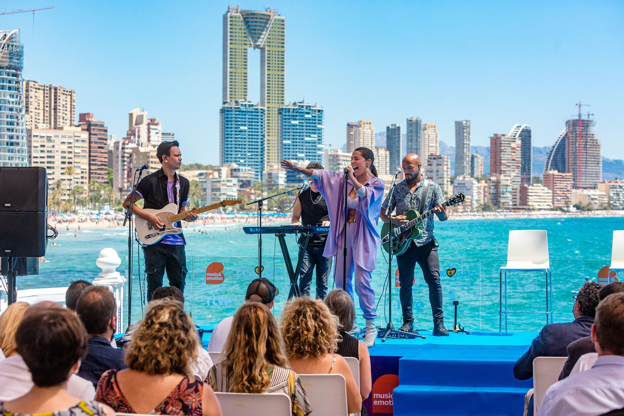 Ruth Lorenzo presenta el Eurovisión español