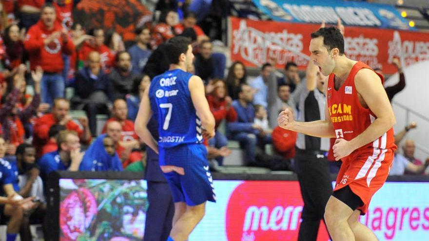 El UCAM saca músculo ante el Gipuzkoa Basket