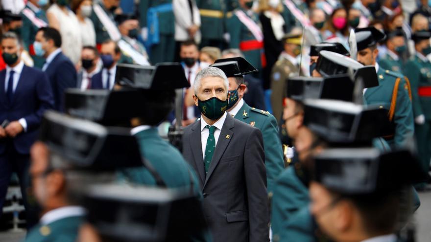 Abuchean a Marlaska en un acto de la Guardia Civil en Córdoba