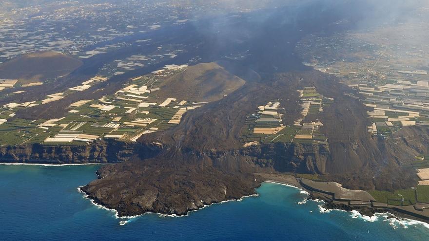 Incertidumbre sobre el destino de las coladas del volcán