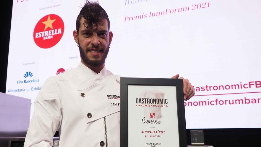 Joseba Cruz, el xef de Le Clandestin de Navàs, guanya el premi Cuiner 2021