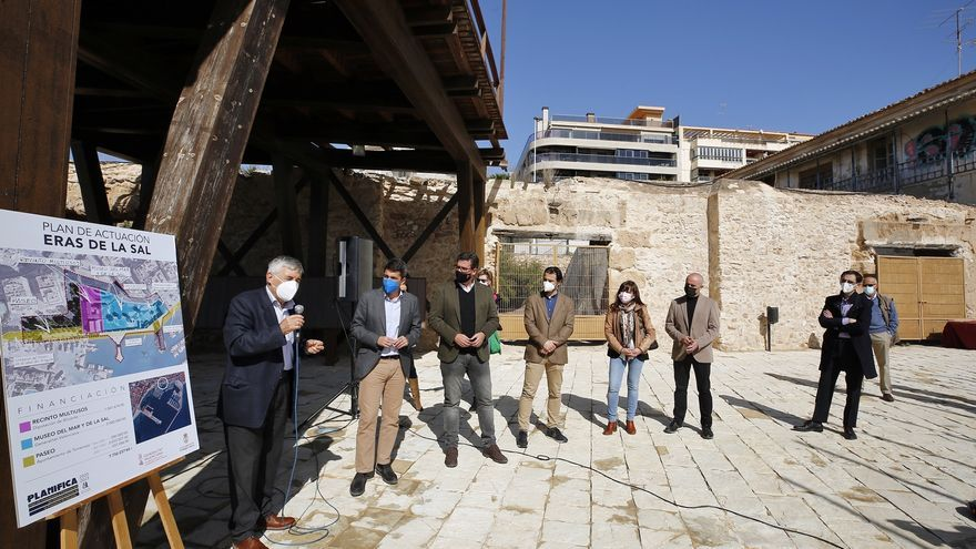Presentación de los proyectos de rehabilitación de las Eras de la Sal en Torrevieja