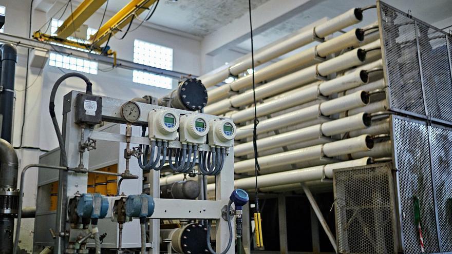 El agua en Santa Cruz: estación desaladora de agua de mar