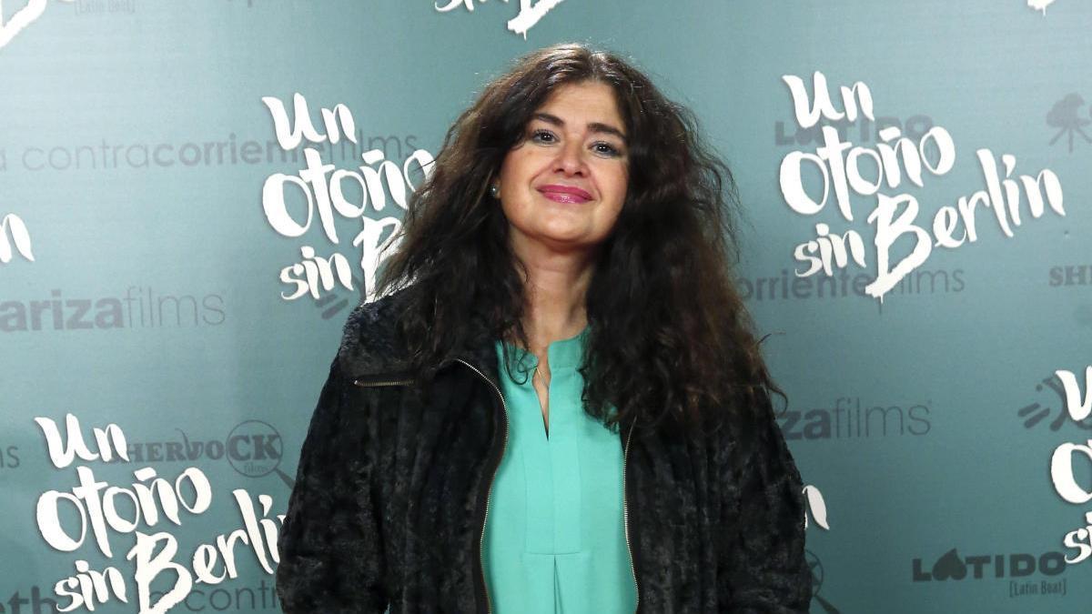 Una imagen de Lucía Etxebarria.