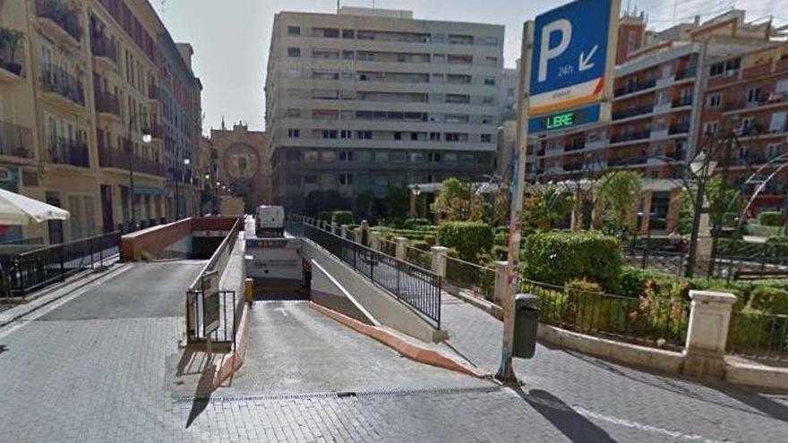 El aparcamiento de Parcent vuelve a la gestión municipal