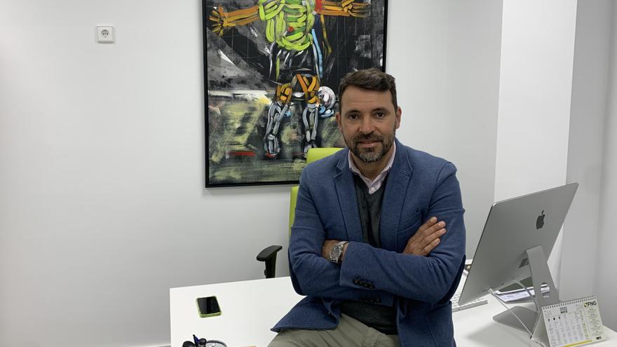 José Tirado habla del proyecto deportivo del Palma Futsal
