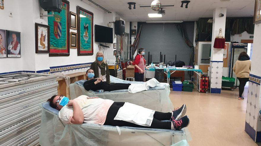 Consulta las próximas donaciones de sangre en casales falleros