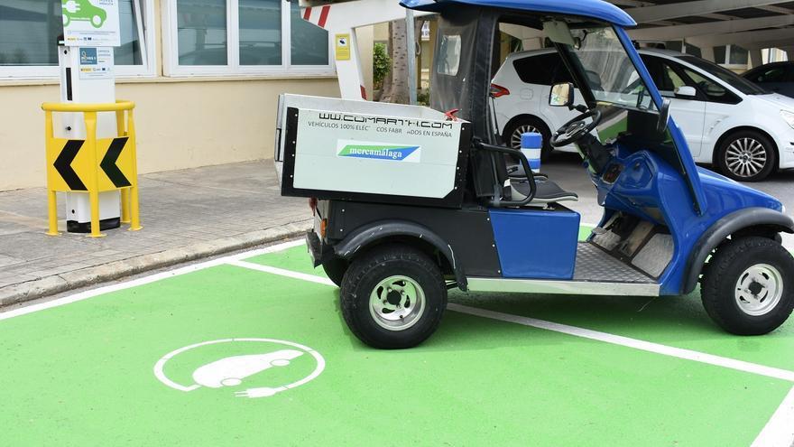 Mercamálaga instala sus primeros puntos de recarga para vehículos eléctricos