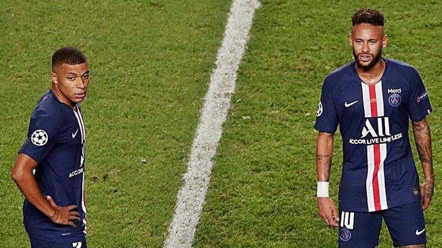 El futuro de Neymar y Mbappé tras caer en Champions