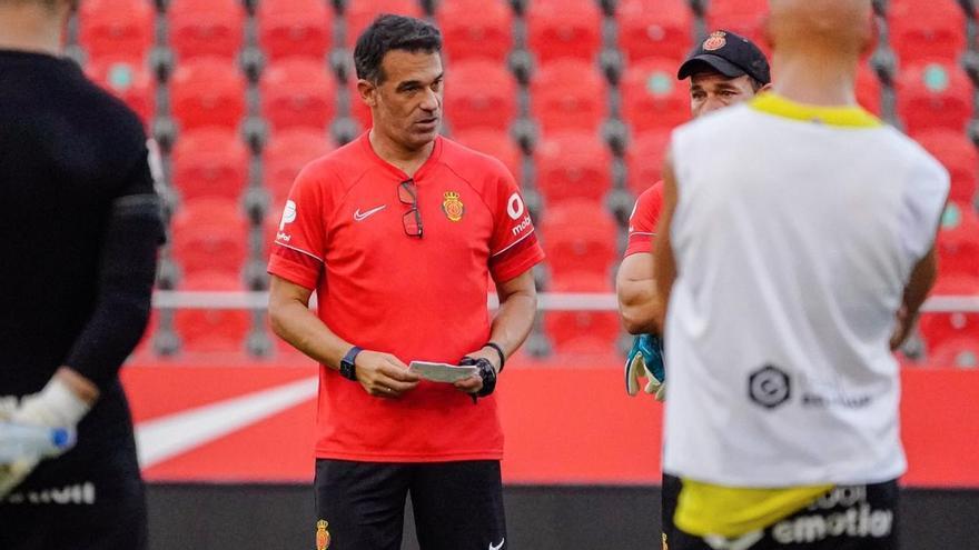 Luis García: «¿Fichajes? Hemos conseguido el mínimo de lo que queríamos»