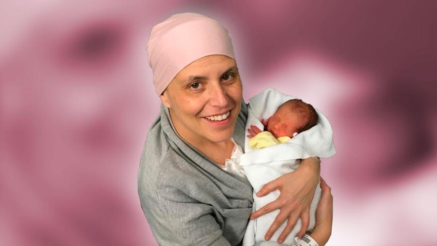 Mamá venció la guerra: la historia de la asturiana que superó un cáncer durante su embarazo