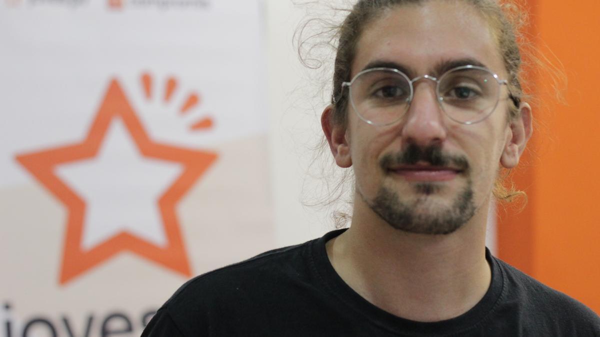 El nuevo secretario local de MES-Compromís Albal, Raúl Esteban.