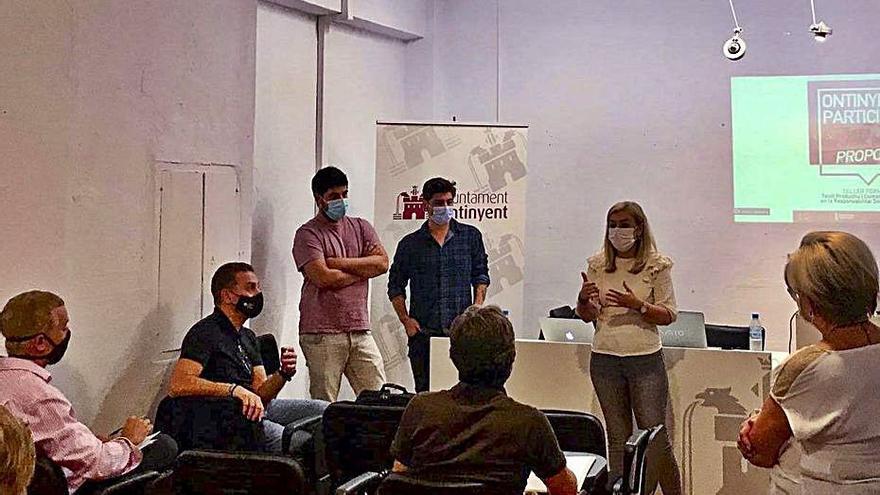 Ontinyent Participa cierra los talleres con el tejido productivo