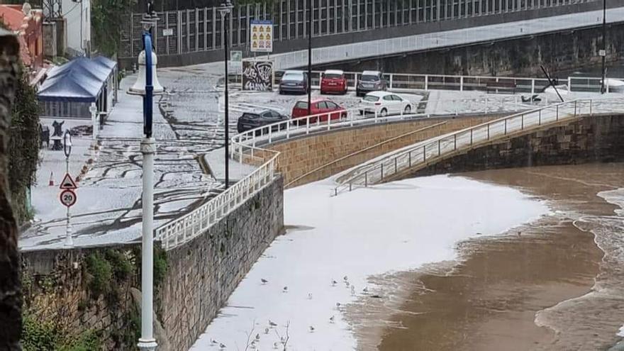 Rayos y granizo: así está el tiempo en Asturias