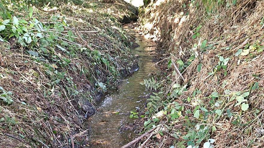 Agolada recupera las presas y riachuelos del municipio