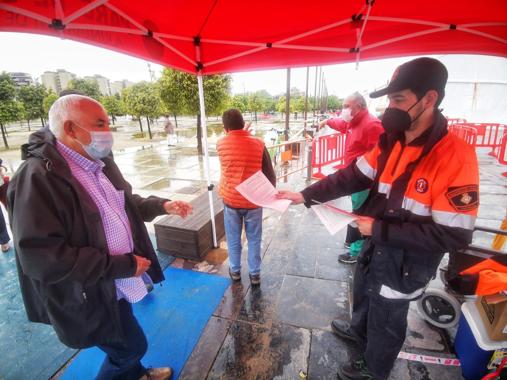 Vacunación en el Auditori de Castelló