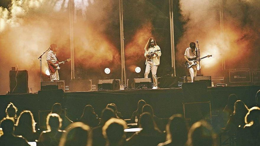 Carlos Sadness ofrece un gran directo en el Mallorca Live Festival