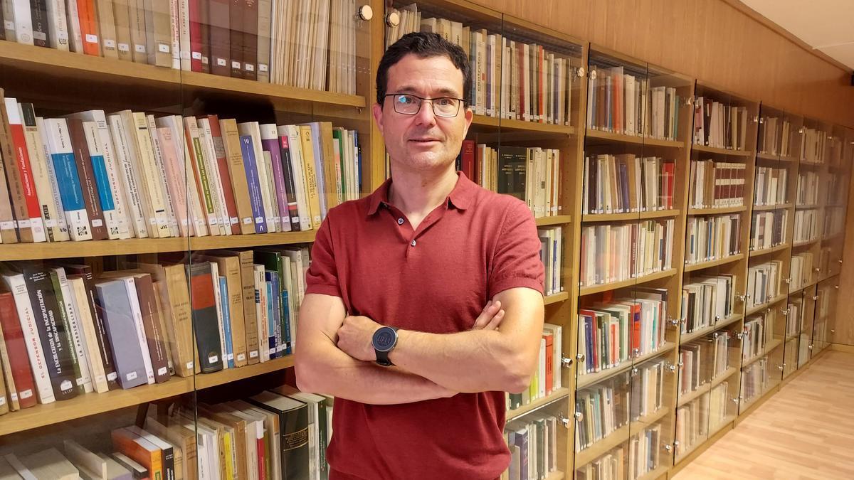 Julián López Richart, director del máster.