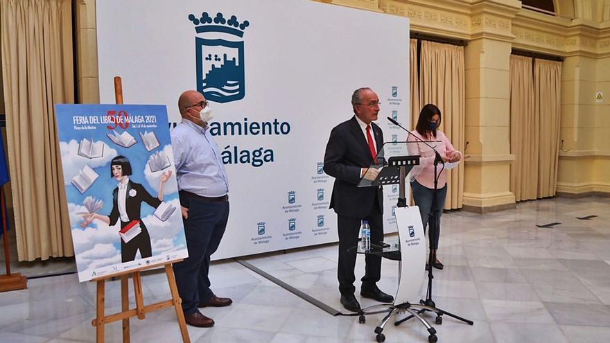 La Feria del Libro de Málaga, con Cercas y en La Marina