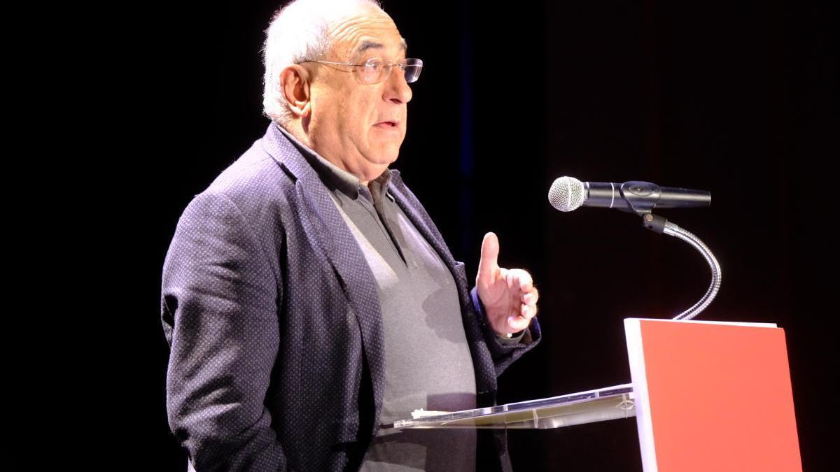 Joaquim Nadal en un acte a Figueres.