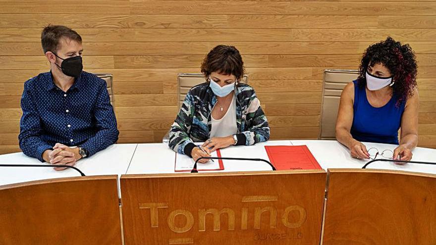 Tomiño blinda su apoyo a la Agrupación Musical de Goián con una ayuda de 25.000 euros