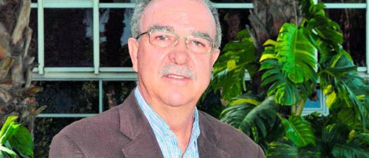 Juan José Luján, cronista de Artenara.
