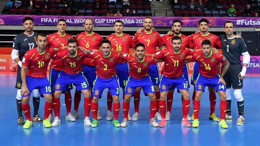 España sufre, remonta y avanza a octavos ante Japón en el Mundial de fútbol sala
