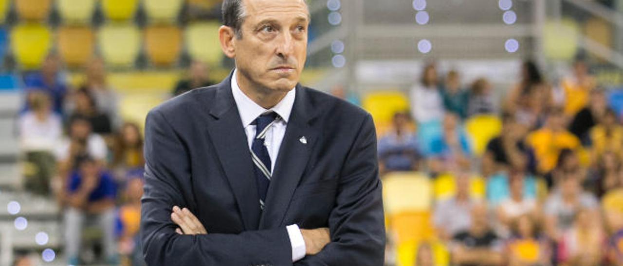 Salva Maldonado, en su última visita al Gran Canaria Arena. Fue el pasado mes de noviembre con el Estudiantes.