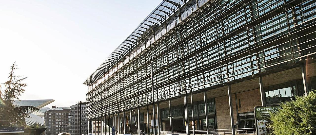 Edificio de las consejerías del Principado.