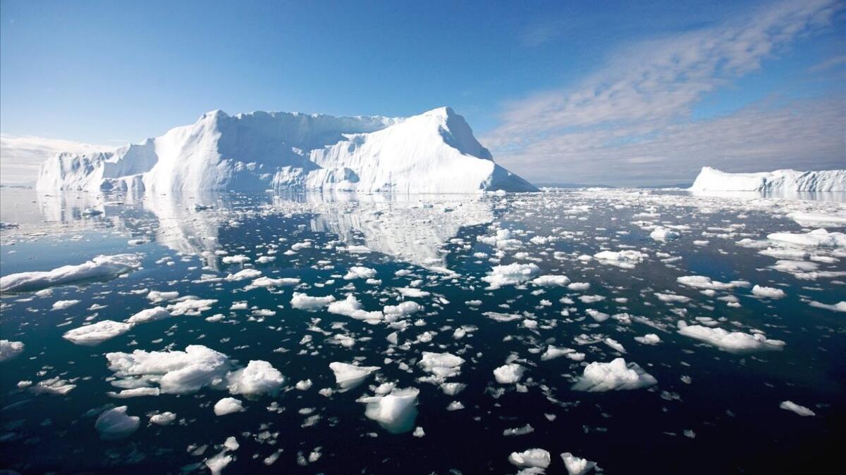 El calentamiento derrite tanto hielo que ya deforma la corteza terrestre