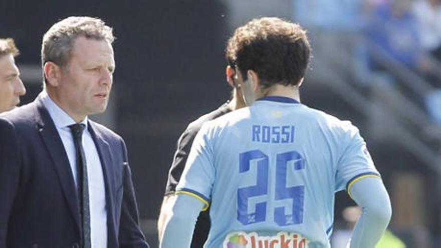Rossi pensó en la retirada