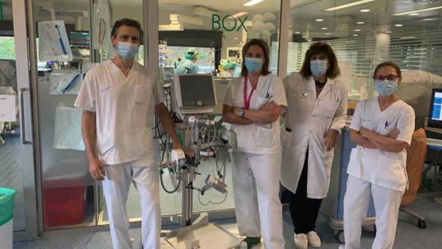 El Chuvi implanta una nueva terapia para paciente graves por Covid-19