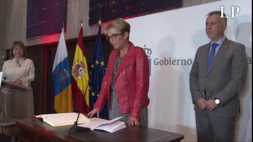 """Máñez apela al apoyo de sindicatos y empresarios para impulsar la """"justicia social"""" en Canarias"""
