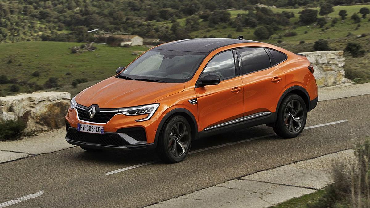 El novedoso Renault Arkana.